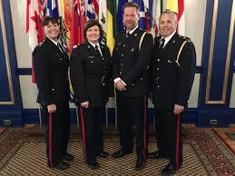 """Chief Evan Bray's tweet - """"Congratulations to our @reginapolice ..."""