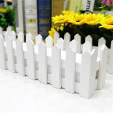 Wooden Fence Garden Decking Window Box Planter Boards Fence For Flower Plant Pot Wooden Decor White Christmas Tree Fence Flower Pots Planters Aliexpress