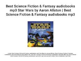 Best Science Fiction & Fantasy audiobooks mp3 Star Wars by Aaron Alls…