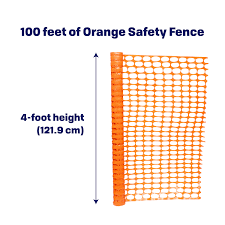 Bisupply 4 Ft Safety Fence Plastic Fencing Roll Temporary Fencing Walmart Com Walmart Com