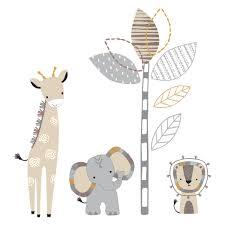 Jungle Leaves Wall Decals Nz Book Animal Art Ebay Etsy Tree Australia Baby Vamosrayos