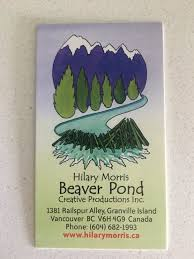 Hilary Morris - Beaver Pond - Commissioned Artists - 1381 Railspur Alley,  Granville Island/False Creek, Vancouver, BC - Phone Number - Yelp