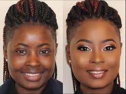 melanin skin makeup transformation