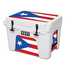 Mightyskins Protective Vinyl Skin Decal For Yeti Tundra 35 Qt Cooler Wrap Cover Sticker Skins Puerto Rican Flg Walmart Com Walmart Com