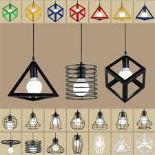 nordic loft pendant lights led lamp