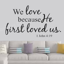 Bible Verse Wall Decals Christian Quote Pvc Wall Art Stickers Living Room Bedroom Bible Verse Wall Decal Floral Wall Stickers Flower Wall Decal From Onlinegame 11 67 Dhgate Com