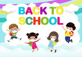 Back to school for new normal lifestyle concept. happy group of kids  wearing face mask and social distancing protect coronavirus covid 19,  children and friends go to school isolated | Premium Vector
