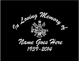 Products Tagged Memorial Decal Customvinyldecals4u