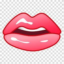 lip mouth emoji smile tongue mouth