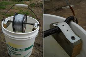 Diy Electric Fence Wire Holder