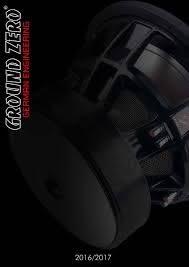 Audio 2016/2017 by Ground Zero Audio