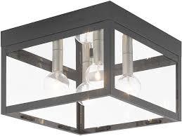 modern farmhouse flush mount lighting