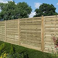 Rowlinson 6ft X 5ft Gresty Garden Screen Fence Panel Pack Of 3 Self Assembly Amazon Co Uk Garden Outdoors