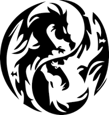 Dragon Circle Wall Decal From Trendy Wall Designs