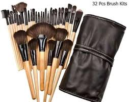 32 pcs set mac makeup brushes beauty