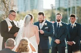 outdoor lawn florida wedding ceremony