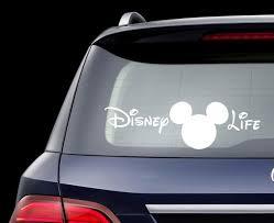 Vinyl Disney Life Car Decal Disney Life Sticker Car Decal Etsy