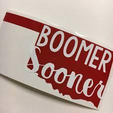 Oklahoma Sooners Sticker Oklahoma Sooners Vinyl Oklahoma Decal Ou Oklahoma Sooners Norman St Oklahoma Sooners Transfer Paper Clear Transfer Paper
