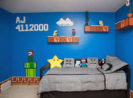 Mario Brothers Bedroom With Sound Xlaurieclarkex With Sound I Ll Pin This Now And Follow This Later To See Super Mario Room Mario Room Mario Bros Room