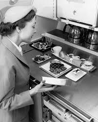 Quando as companhias aéreas começaram a servir refeições - Guia ...