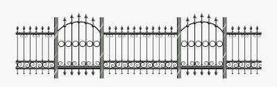 Png Transparent Iron Fence Free Transparent Clipart Clipartkey