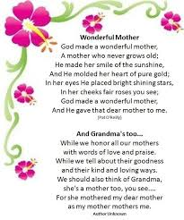 poems for kids abroach images mothers day poems for kids
