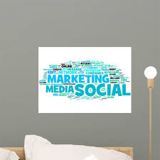 Marketing Social Media Wall Decal Wallmonkeys Com