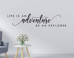 Explore Wall Decal Etsy