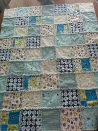custom rag quilt baby blanket nursery