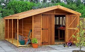 wooden garden sheds north east building