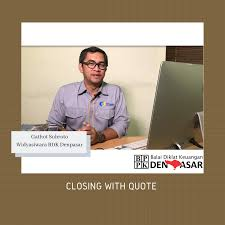 closing quote kemenkeu learning center