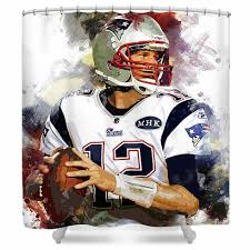 tom brady new england patriots shower