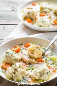 gluten free en and dumplings recipe