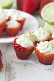 Key Lime Pie Stuffed Strawberries + Video - Maebells