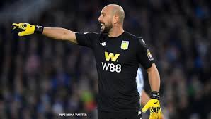 Pepe Reina coronavirus update: Aston Villa goalkeeper opens up on ...