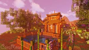 Japanese House Garden For Bees Minecraft Map