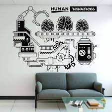 Human Resources Office Teamwork Corporate Wall Sticker Classroom Company Business Process Wall Decal Office Vinyl Decor Wall Stickers Aliexpress