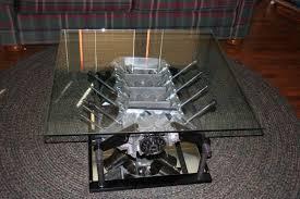 ferrari engine block coffee table