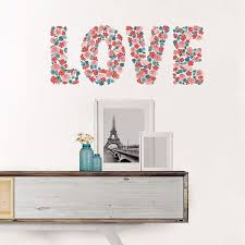 Wpq2328 Love Wall Decal By Wallpops