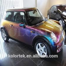 color changing automotive paint pigment