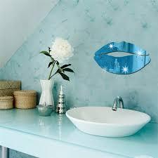 Lncdis Removable Lips Mirror Wall Stickers Decal Art Pvc Home Room Decoration Diy Walmart Com Walmart Com