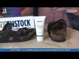 birkenstock shoe cleaning