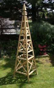 garden obelisk wooden home garden