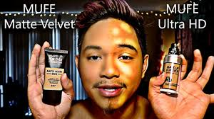mufe matte velvet vs mufe ultra hd