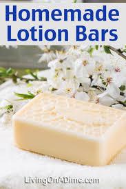 homemade lotion bars recipe living on