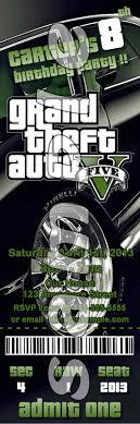 Grand Theft Auto Ticket 6 Jpg 600 1 800 Pixels Ticket Style