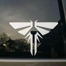 The Last Of Us Firefly Logo Vinyl Decal Sticker Etsy