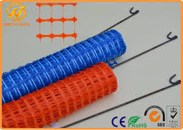 Hdpe Plastic Construction Site Swimming Pool Safety Fence Light Weigh Flexible