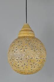 star cut yellow pendant lamp a b