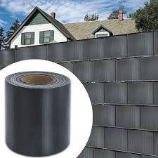 65m Privacy Fence Screen Pvc Tarpaulin Strip Rolls Screen Fence Uv Resistance Perfect For Garden Balcony Lan In 2020 Privacy Fence Screen Fence Screening Privacy Fence